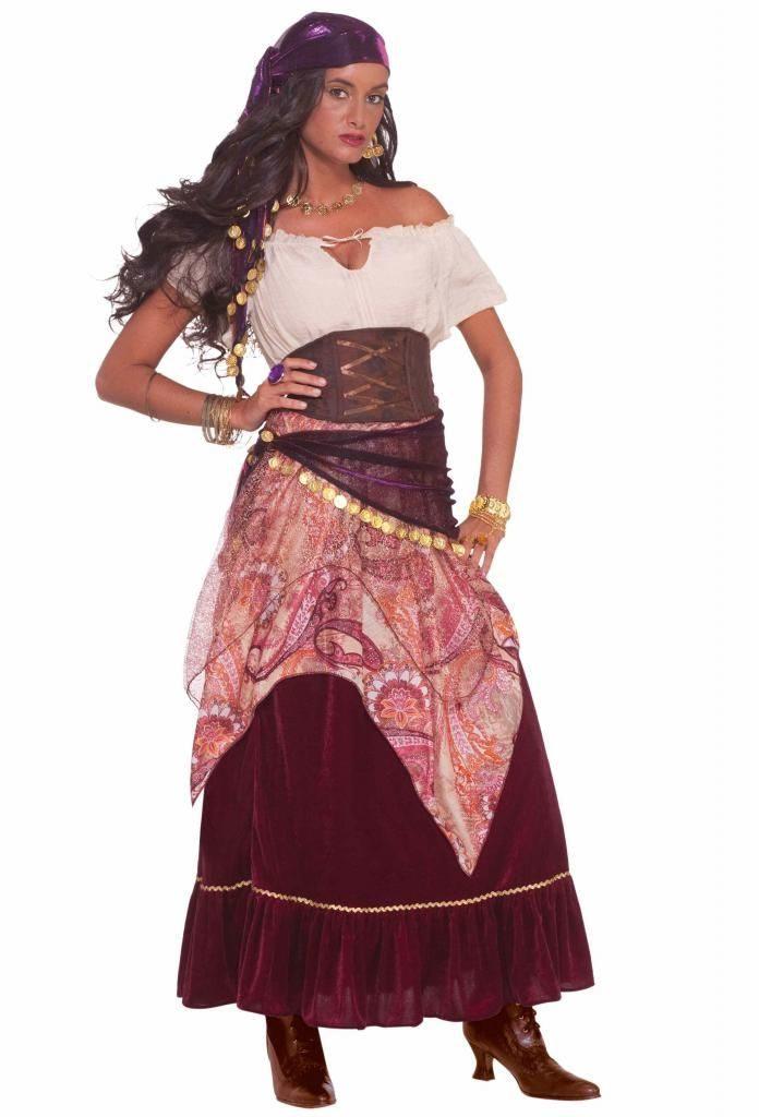 женский костюм цыганки