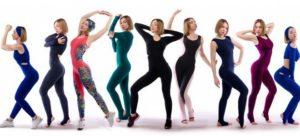костюмы для йоги
