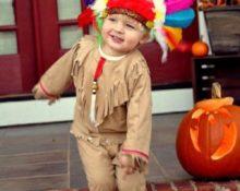 костюм индейца своими руками