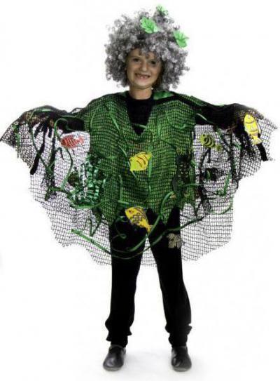 Прозраяный костюм Кикиморы