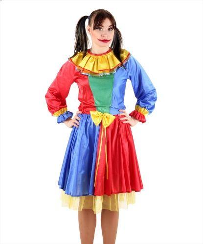 женски костюм клоунессы
