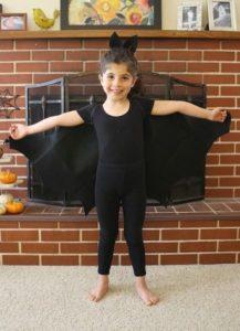 костюм летучей мыши для девочки своими руками