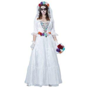 костюм невесты на хэллоуин своими руками