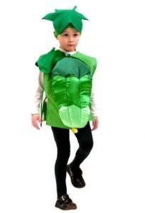 костюм огурца для мальчика своими руками