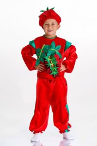 костюм помидора для мальчика своими руками