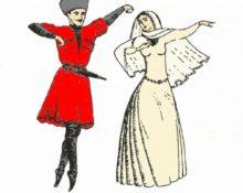 национальный костюм лезгинов