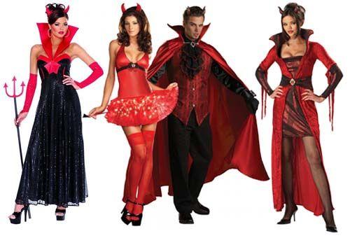 костюм дьяволицы