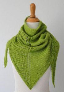 Зеленая косынка