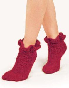Красные носочки