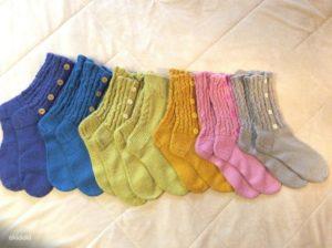 Цветные носочки