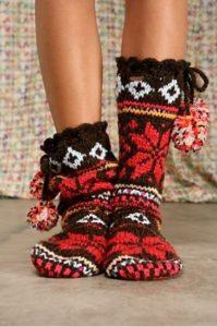 Оригинальные цветные носки с разными узорами