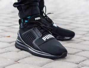Кроссовки Puma черные