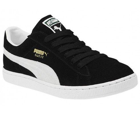 Кроссовки Puma черно-белые