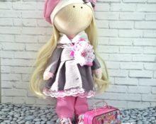 как сделать чемодан для кукол