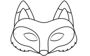 маска лисы