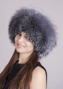 модель меховой шапки