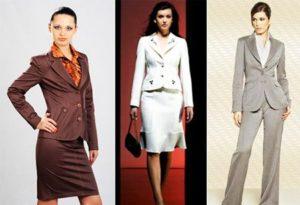 модели костюмов женских для пошива фото