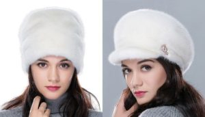 норковые шапки 2018 года модные тенденции фото
