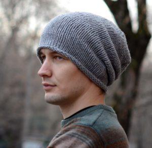 мужские шапки бини