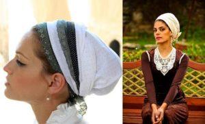 Еврейский наряд для девушки