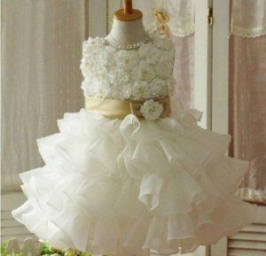 накрахмалить детское платье