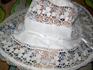 как накрахмалить шляпу