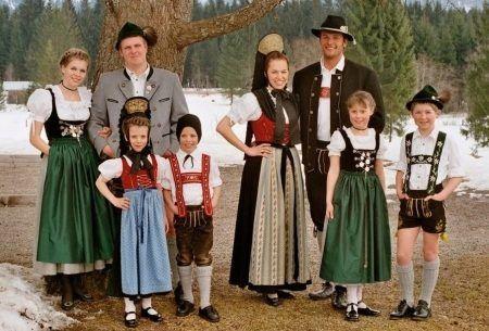 национальный костюм немцев