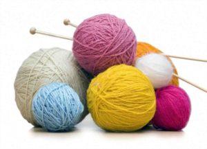 нитки для вязания спицами