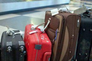 вес чемоданов