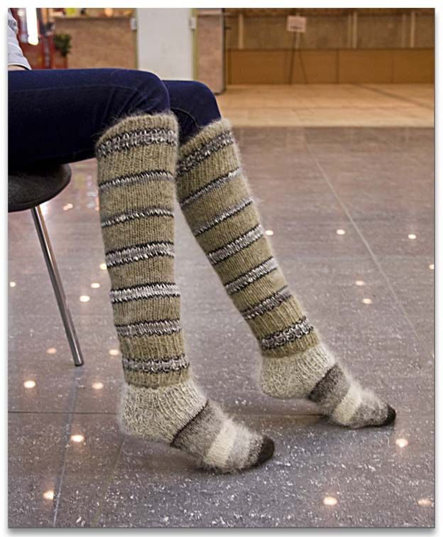 лечебные носки из шерсти собак