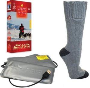 Внешне носки с подогревом