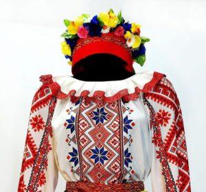 Головной убор женского белорусского костюма