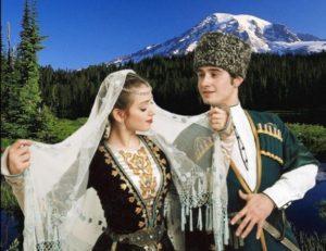 Осетинский народный костюм
