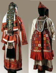 национальные костюмы женщин