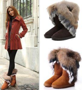 пальто и угги