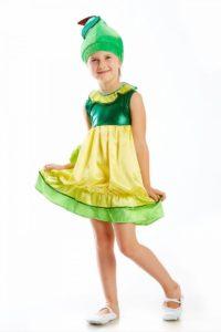 платье для костюма репки