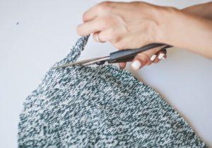 подготовка свитера