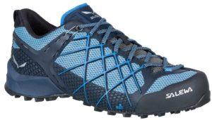 Голубые хайкинговые ботинки
