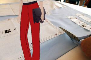 пошив брюк с идеальной посадкой