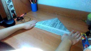 изготовление панамы из бумаги