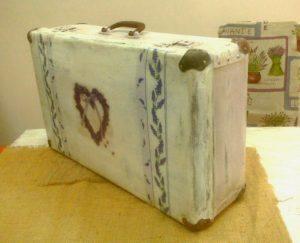 декупаж чемодана в стиле прованс