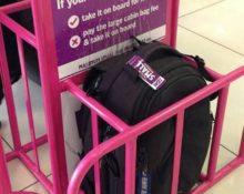 размер чемодана для ручной клади в самолете