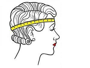 картинка измерение головы