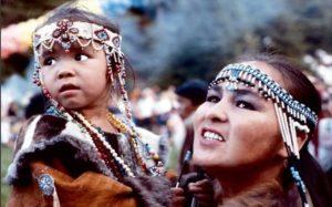 Национальный костюм коряков для ребенка