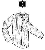 Складываем рубашку