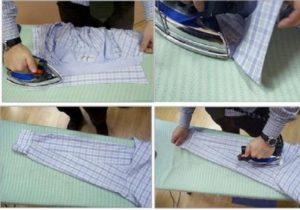 Гладим рубашку