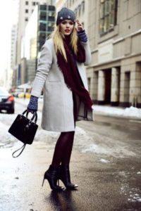 бини с пальто