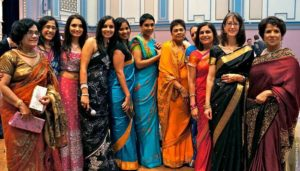 сари в Индии
