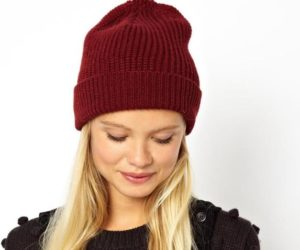 шапка бини под круглое лицо