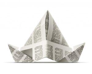 шапка из бумаги